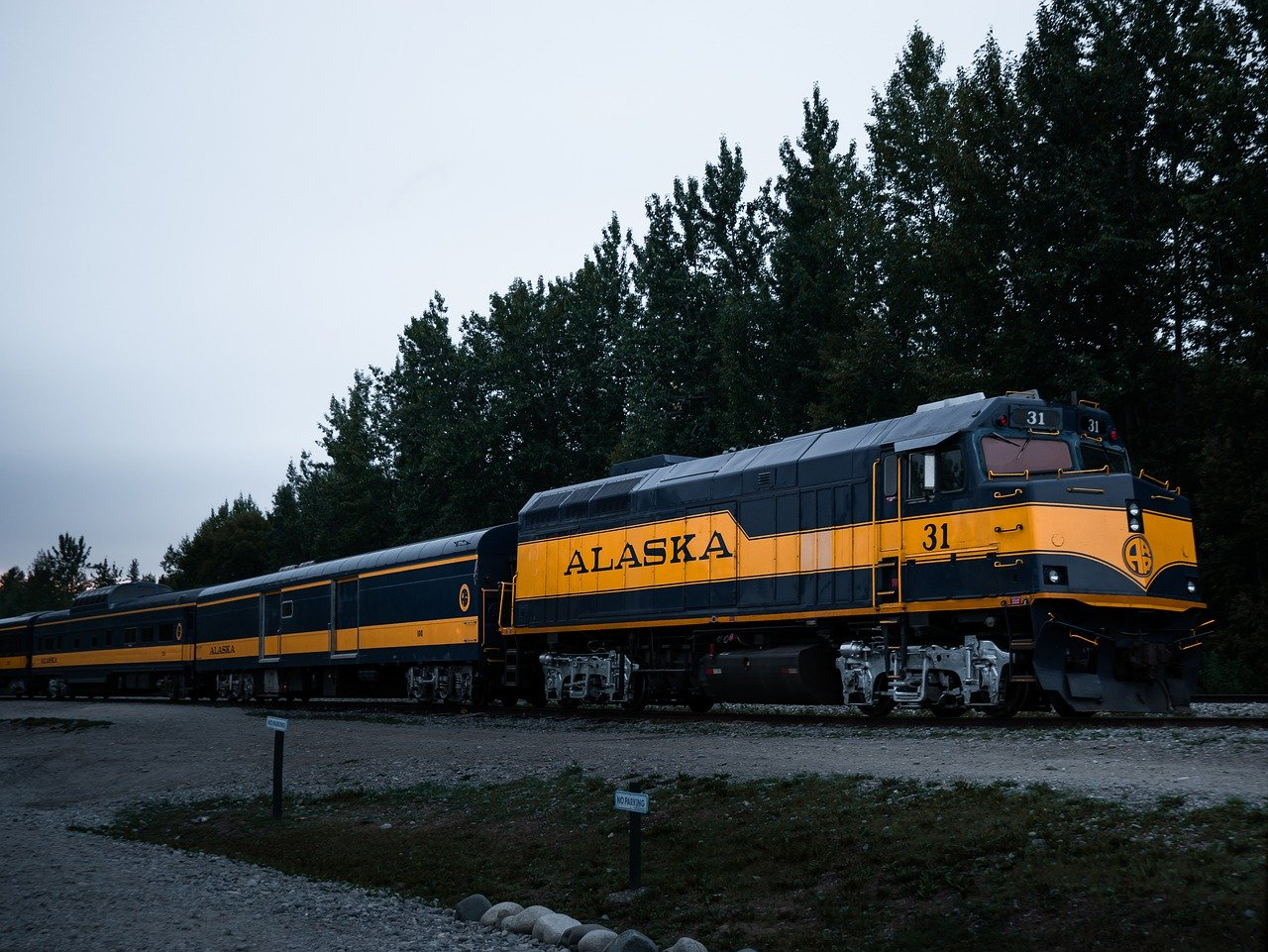 train alaska